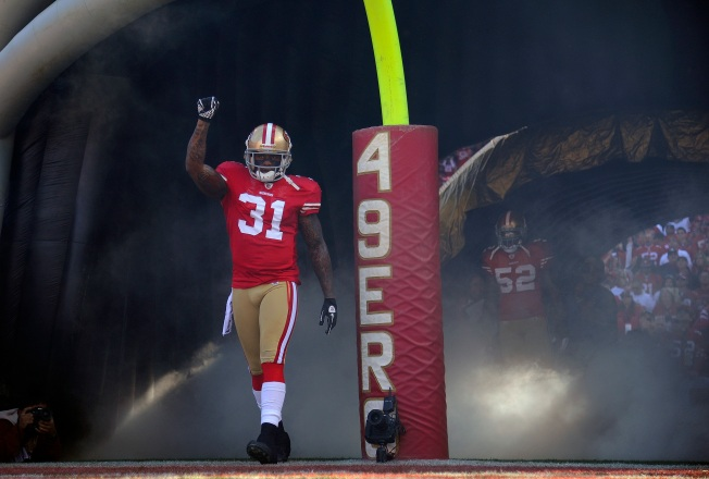 Call it Donte's Inferno: 49ers, Saints Trade Shots