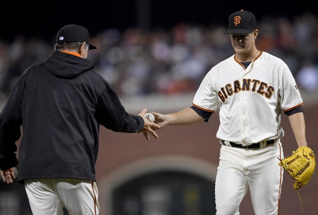 Giants Destroyed in Fifth, Crumble vs Rockies