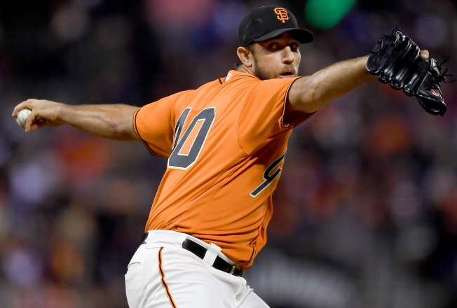 Big Sixth Inning Vaults Giants Over Dodgers
