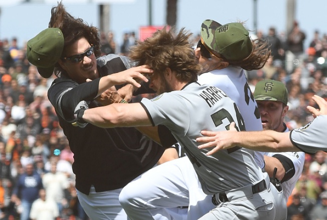 Memorial Day Melee: Giants and Nationals Brawl