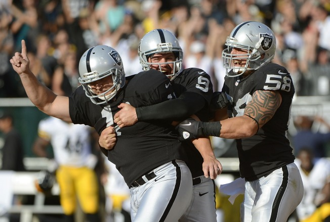 First Victory is a Kick for Raiders' Head Coach Allen