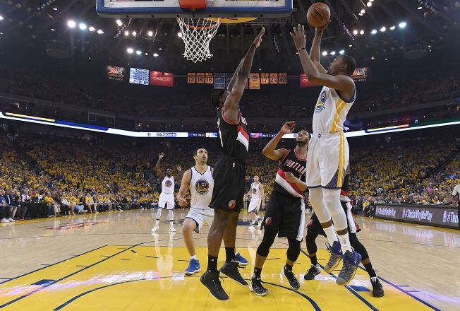 Draymond Does it All, Warriors Take Game 1 from Blazers