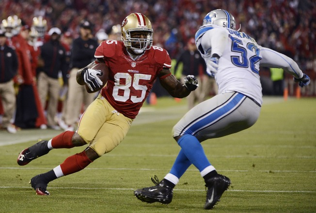Niners' Vernon Davis Finally Getting National Recognition