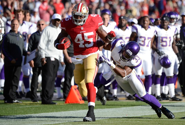 49ers' Running Game Seems Improved