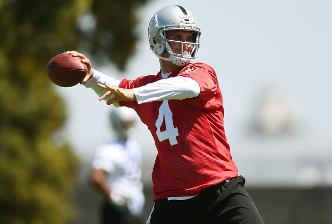 Carr Looks Good, But It's Very Early