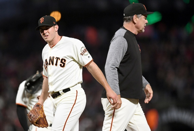 Giants Come Out Flat in 8-1 Loss to Royals