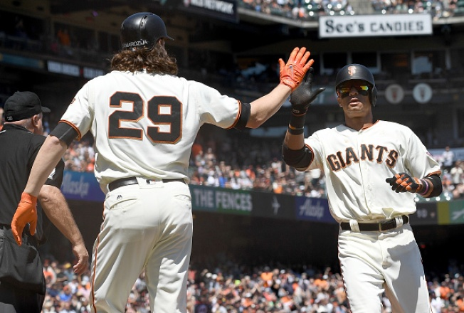 Parker, Samardzija Lead Giants Past Diamondbacks