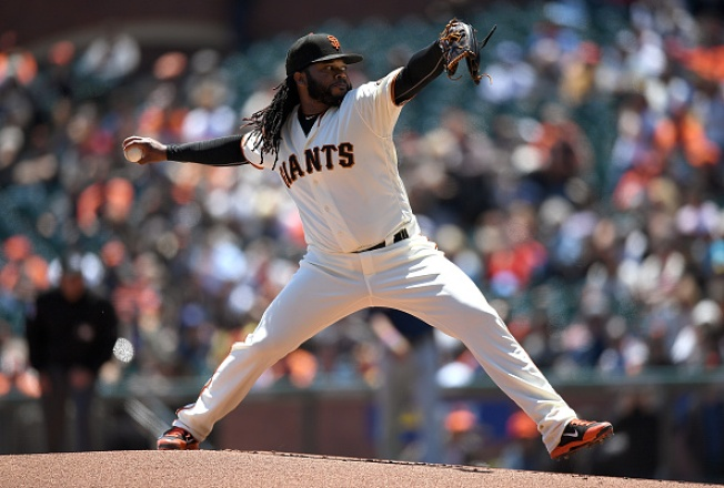 Johnny Cueto Earns 10th Victory As Giants Sweep Brewers