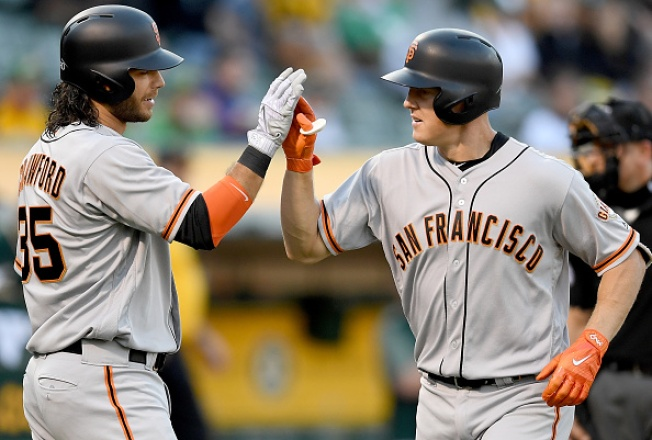 Bay Bridge Series: Giants' Bats Explode in Win Over A's