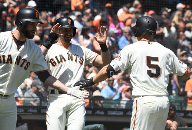 Hundley Leads Giants to Series Win Over Padres