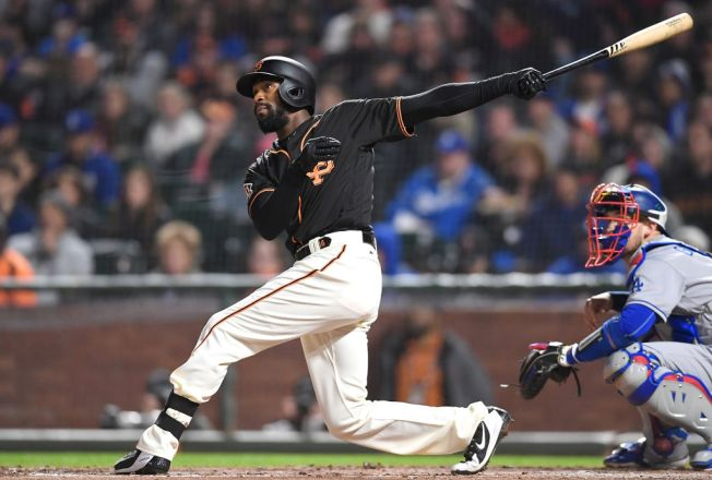 Giants Even Out Doubleheader With Drubbing of Dodgers