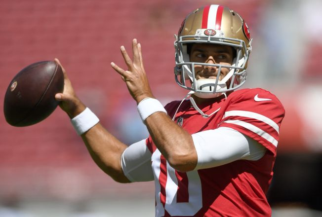 Garoppolo Eager to Start Testing His Knee
