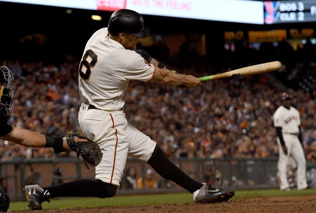 Pence Makes Incredible Catch, Giants Upended by Pirates