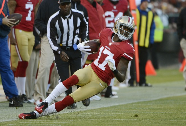 Niners' Invisible Receiver Jenkins Wants to be Seen in 2013