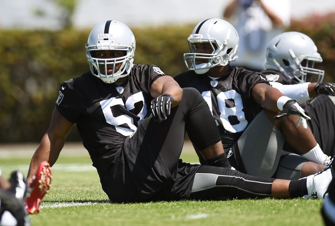 So Far, Raiders' Mack Has Been Quiet