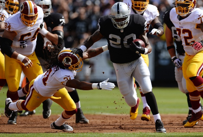 It's an Old Story: Raiders' McFadden Injured Again