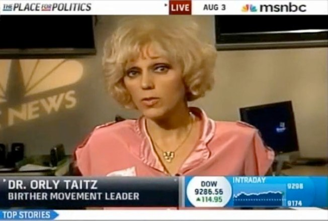 """Birther"" Queen Booted From Tea Party Rally Lineup"