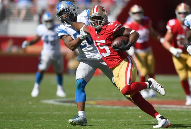 Niners Hampered by Banged-Up Wide Receivers Group