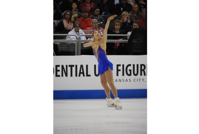 Meet American Figure Skater Mirai Nagasu at the Downtown San Jose Ice Rink