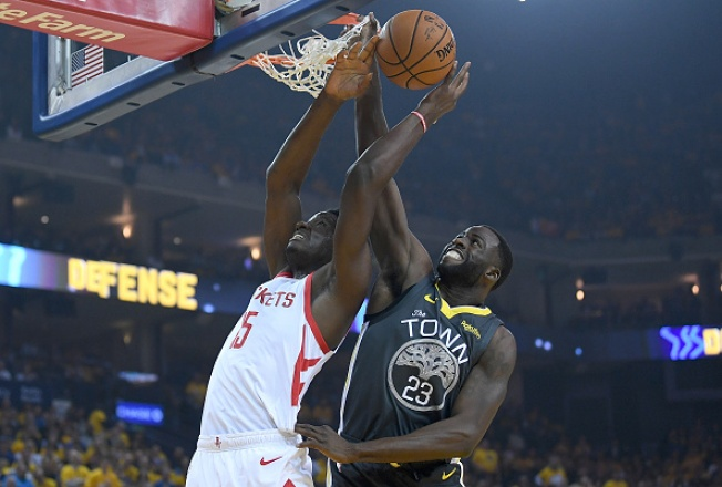 78be2d648c5 Warriors Hold on For Game 2 Win over the Rockets - NBC Bay Area
