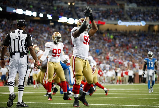 49ers' Victory Reflects Harbaugh's Spirit