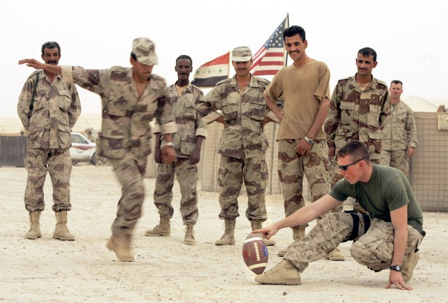 Troops in Iraq Allowed to Drink Beer During Super Bowl