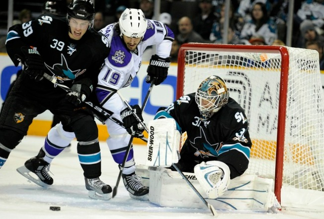 Sharks Bombed Late in Loss