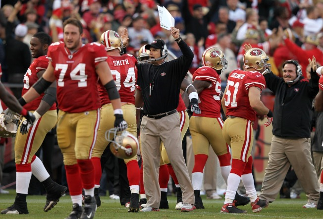Niners Hang On to Win a Wild One
