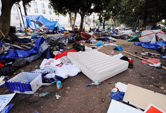SF Occupiers Have Until 5 p.m. to Pick up Their Stuff