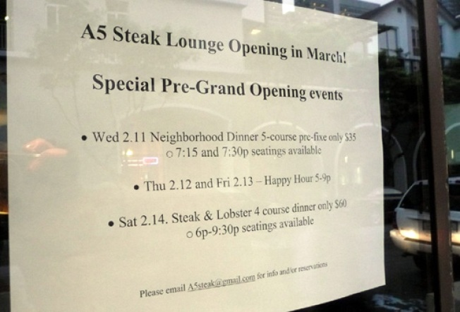 Steaks in the Financial District are Coming