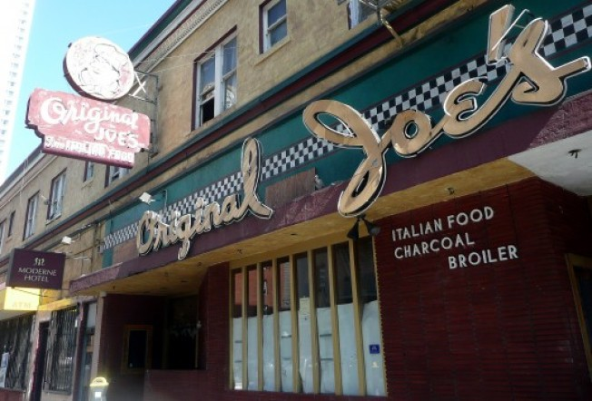 Spot Check: Original Joe's Still Quiet, Under Wraps
