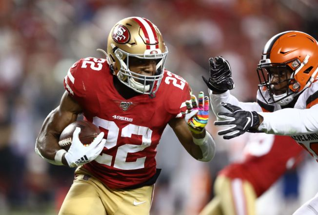 Niners' Running Attack is at Full Throttle