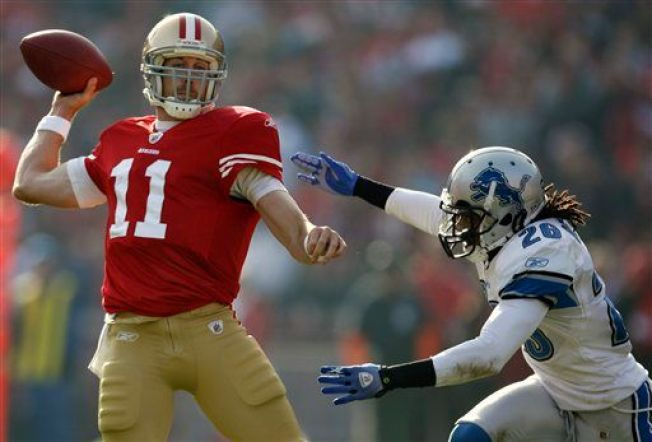49ers Grind Down Lions in Win
