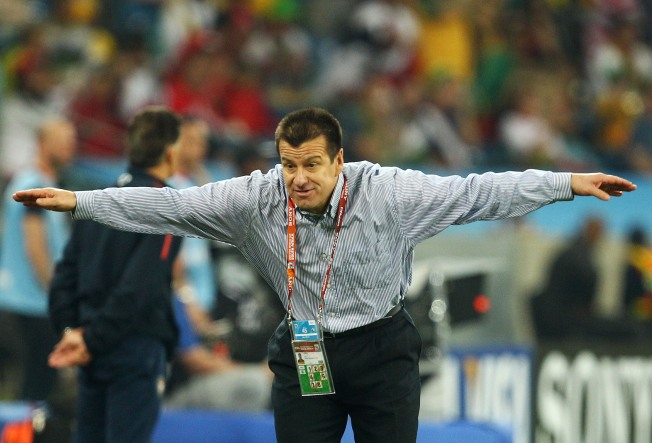 Brazil Boots Coach After World Cup Loss