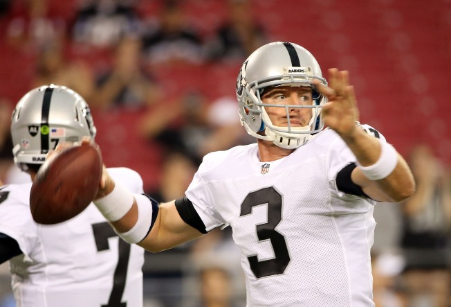 Raiders Believe Palmer's an Elite NFL Quarterback