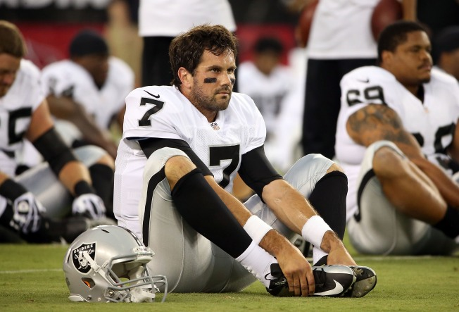 Leinart Ready to Step in If Raiders Need