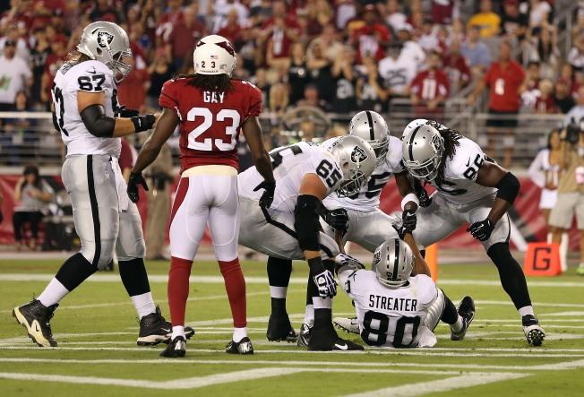 Raiders Receiving Corps May be Thin for Season Opener