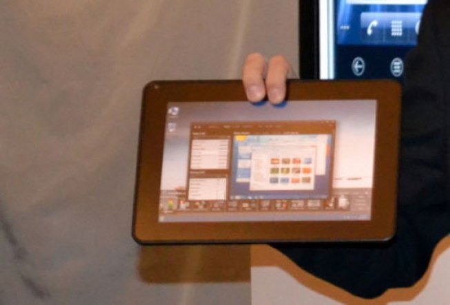 Dell Building a Tablet With an Intel Core i5 CPU and Windows 8