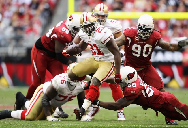 49ers Coping With a Banged-Up Frank Gore