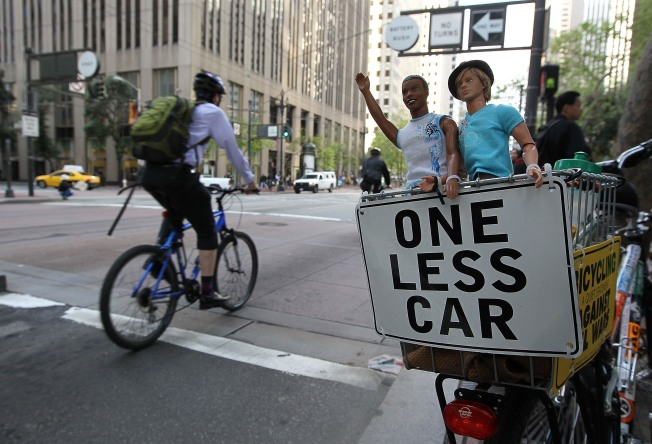 City Routes Cyclists into Harm's Way