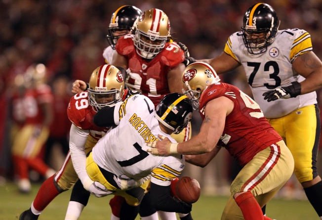 Niners Flip a Switch, Turn Lights Out on Steelers