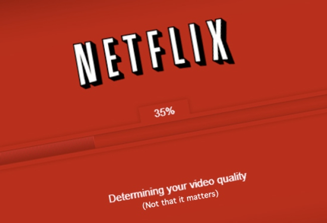 "Netflix Calls Its Own HD Streaming Service ""Underwhelming"""