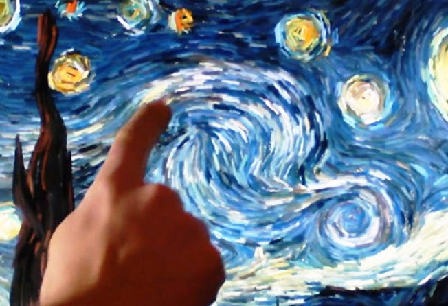 Interactive Van Gogh a Digital Masterpiece
