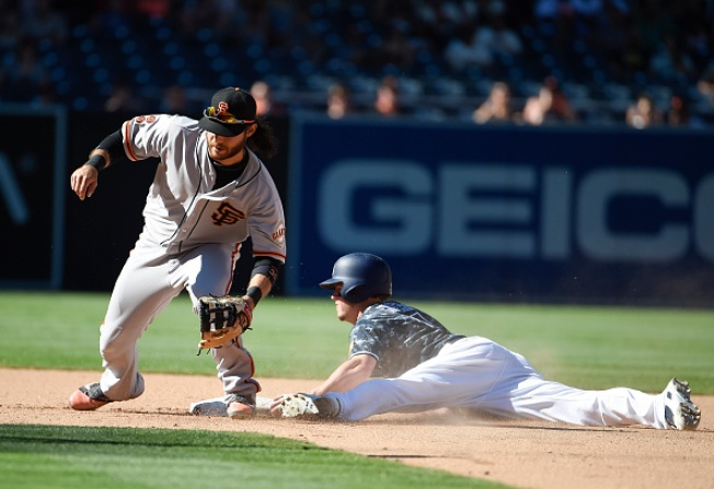 Giants Fall to Padres as Dodgers Clinch NL West