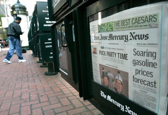 Bay Area Newspaper Sites to Charge for Content