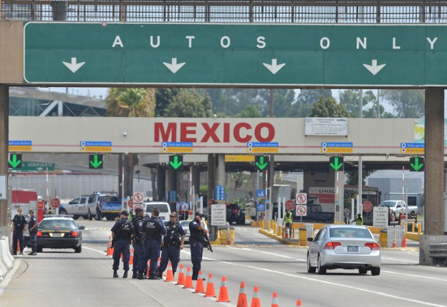Wanted Homicide Suspect Caught Trying to Cross Into Mexico at San Ysidro Border Crossing