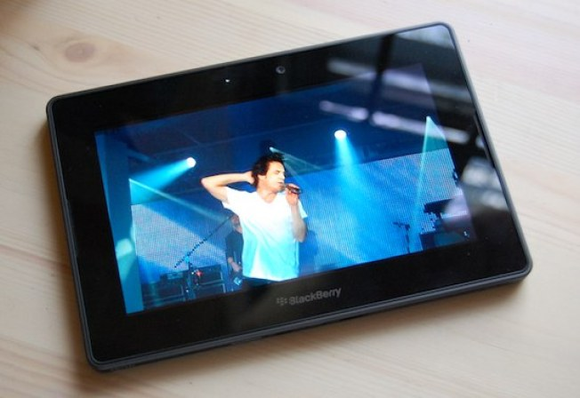The PlayBook Is an Excellent HD Camera