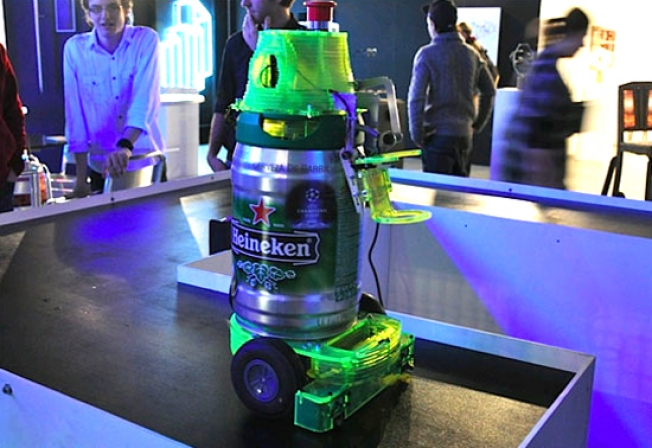 Heineken Bot Ready Serve Beer Without the Human Smalltalk