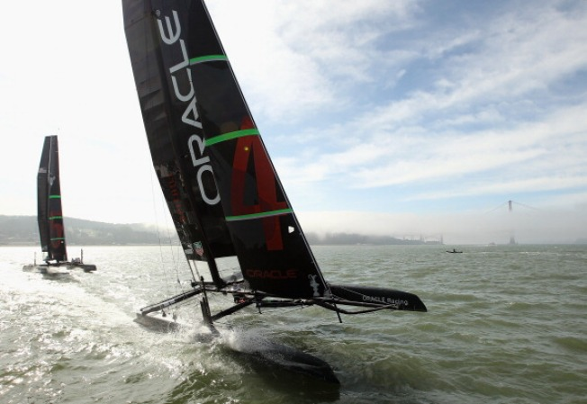 Four of 14 Teams Registered to Challenge Oracle Racing