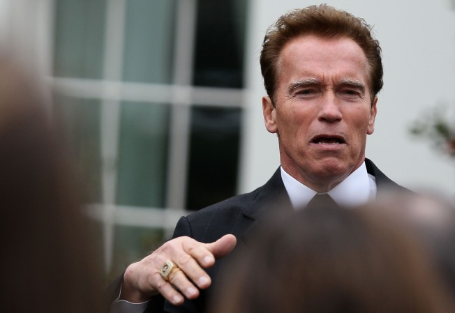 Arnold Throws Weight Into Health Care Debate